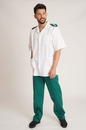 Male Tunic with Epaulette Loops