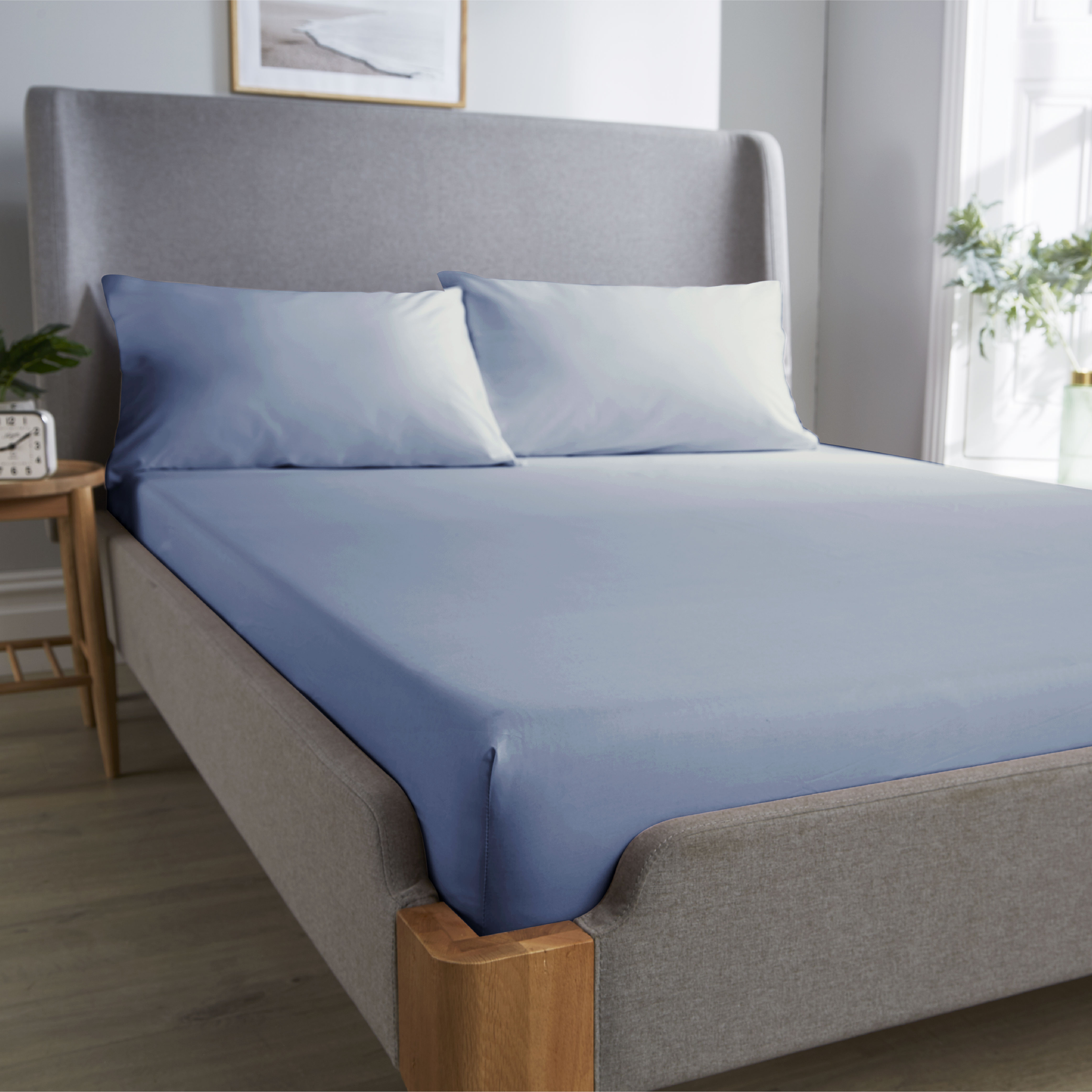 Wallis Young Luxery Bamboo Bedding Fitted Sheet